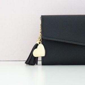 Portefeuille Louise noir