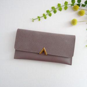 Portefeuille Anna violet