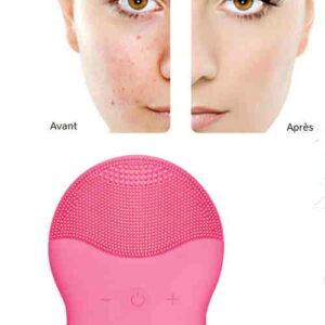Brosse de nettoyage des pores